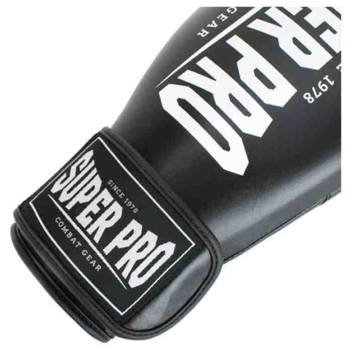 Super Pro Champ Bokshandschoenen Zwart/Wit-340119