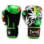Twins Fantasy 3 Bokshandschoenen – Rood – Groen – Geel – wiet – cannabis