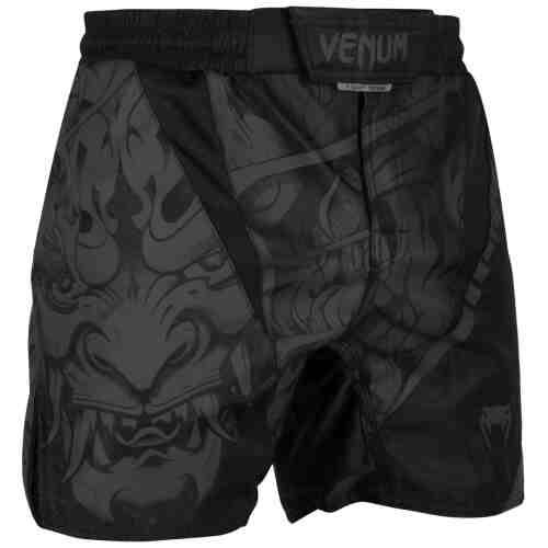 Venum Devil Fightshorts - Volledig zwart - jokasport.nl