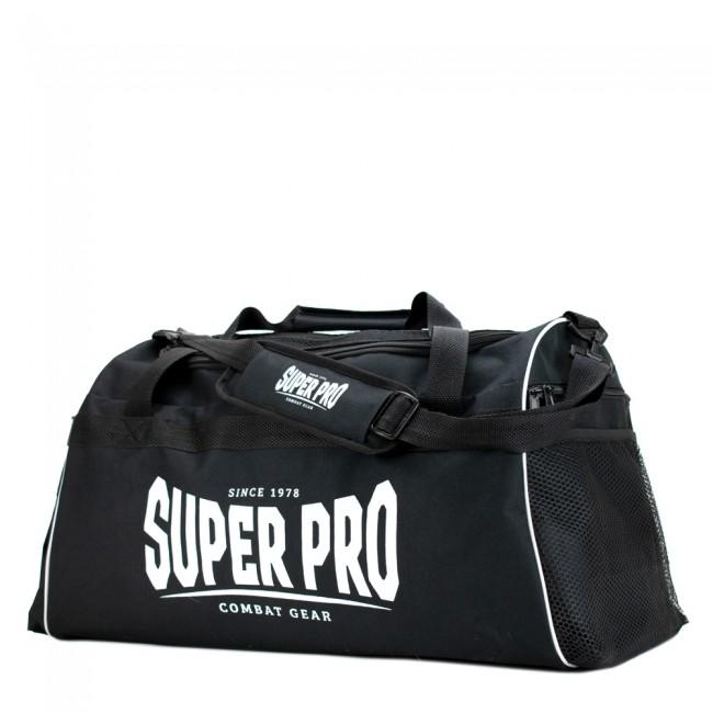 Super Pro Gym Sporttas Zwart/Wit - Jokasport