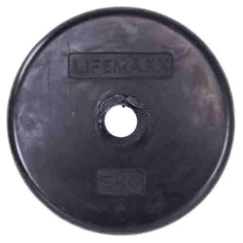 LMX Halterschijf - 30mm - Rubber coating - per stuk-0