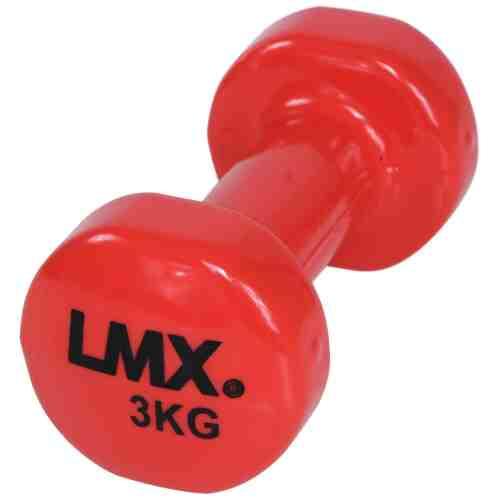 LMX Dumbbells - 2 x 3,0 kg - Vinyl - Rood-0