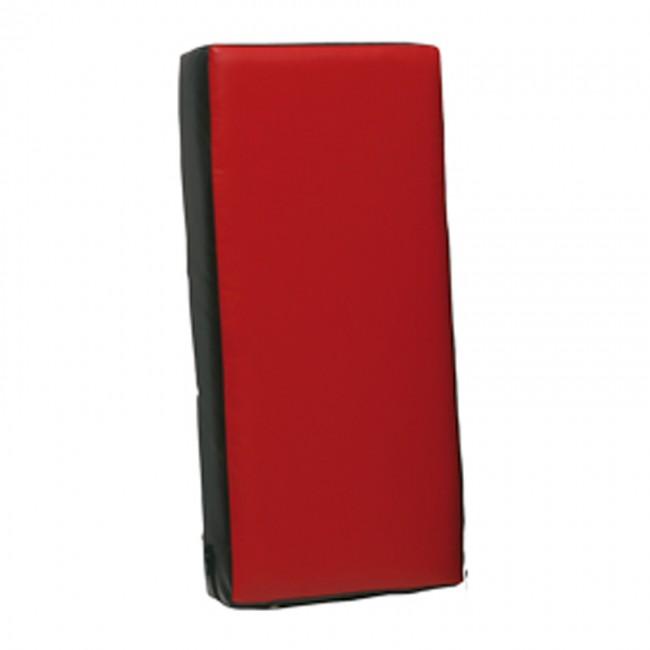 Trap/stootkussen groot 75 x 35 x 15 cm zwart/rood – Jokasport.nl