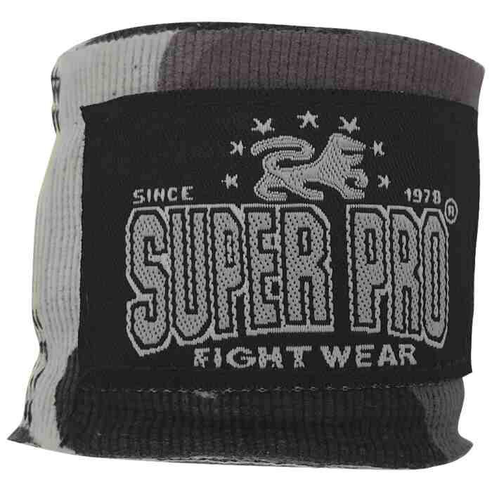 Super Pro Bandages - Camo Grijs - 350 cm jokasport.nl