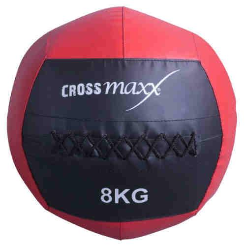 Crossmaxx Wall Ball - Rood - 8 kilo jokasport.nl