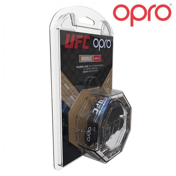 OPRO UFC Gebitsbeschermer - Bronze - Volwassenen - Zwart - jokasport.nl
