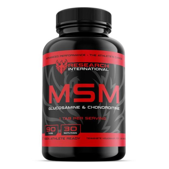 Research M.S.M. Glucosamine / Chondroïtine - jokasport.nl