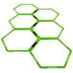 Tunturi Agility Grid – Speed ladder – Loopladder – Hexagon jokasport.nl