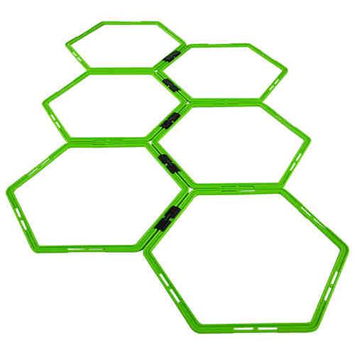 Tunturi Agility Grid - Speed ladder - Loopladder - Hexagon jokasport.nl