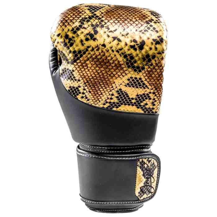 Joya Bokshandschoenen Thailand Snake - PU - Goud-542060