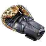 Joya Bokshandschoenen Thailand Snake – PU – Goud-542061