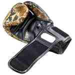 Joya Bokshandschoenen Thailand Snake – PU – Goud-542062