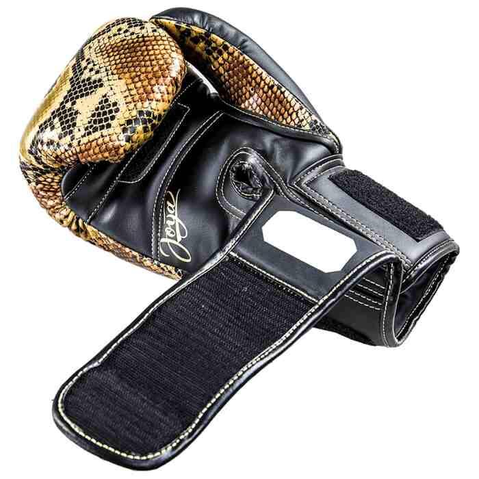 Joya Bokshandschoenen Thailand Snake - PU - Goud-542062