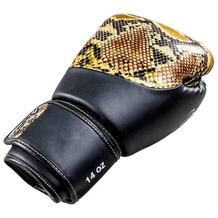 Joya Bokshandschoenen Thailand Snake - PU - Goud-542064