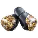 Joya Bokshandschoenen Thailand Snake – PU – Goud-542065
