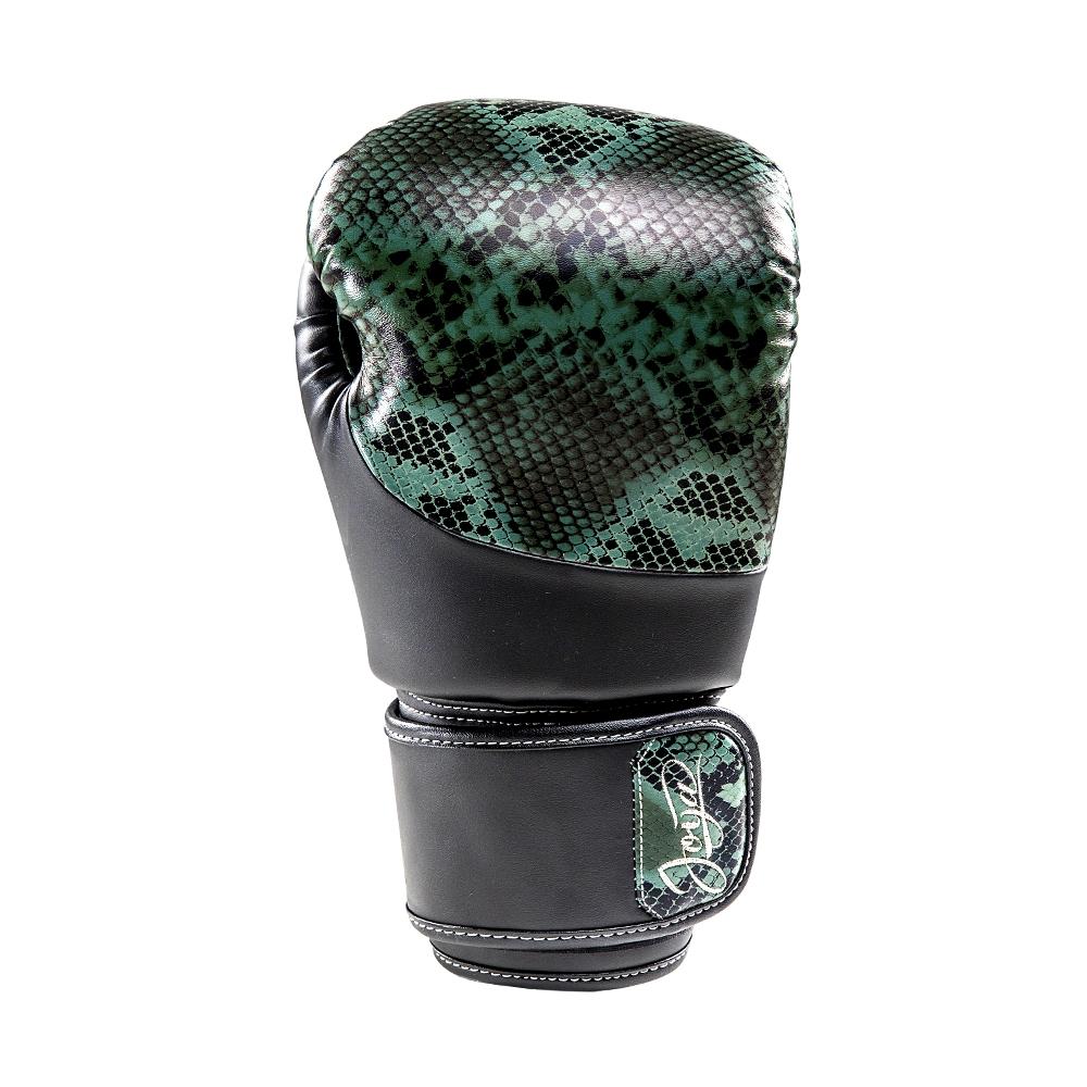 Joya Bokshandschoenen Thailand Snake – PU – Groen-542084