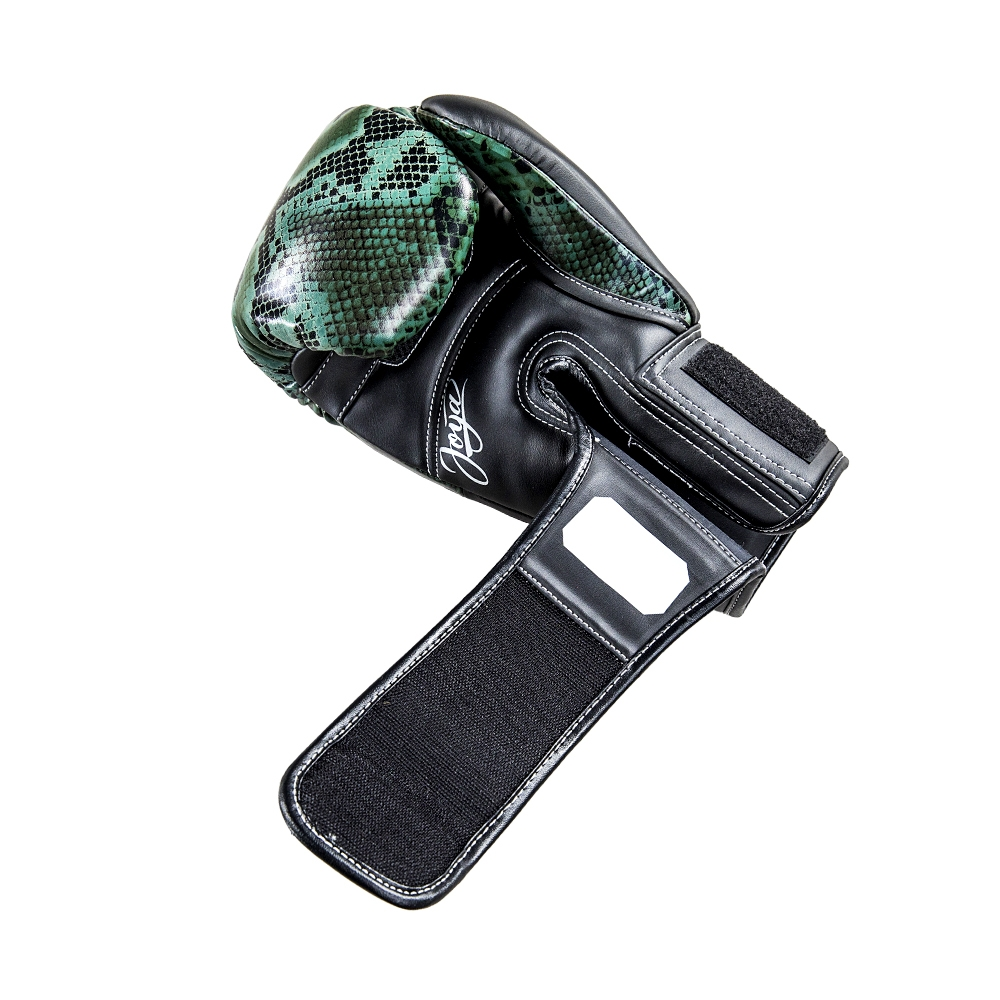 Joya Bokshandschoenen Thailand Snake – PU – Groen-542088