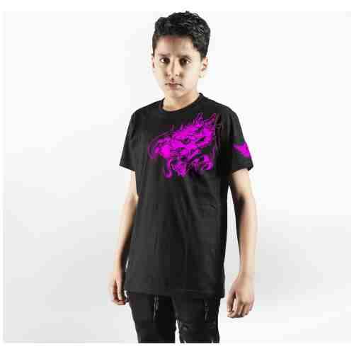 Joya T-Shirt Roze Draak - Kinderen - Katoen jokasport.nl