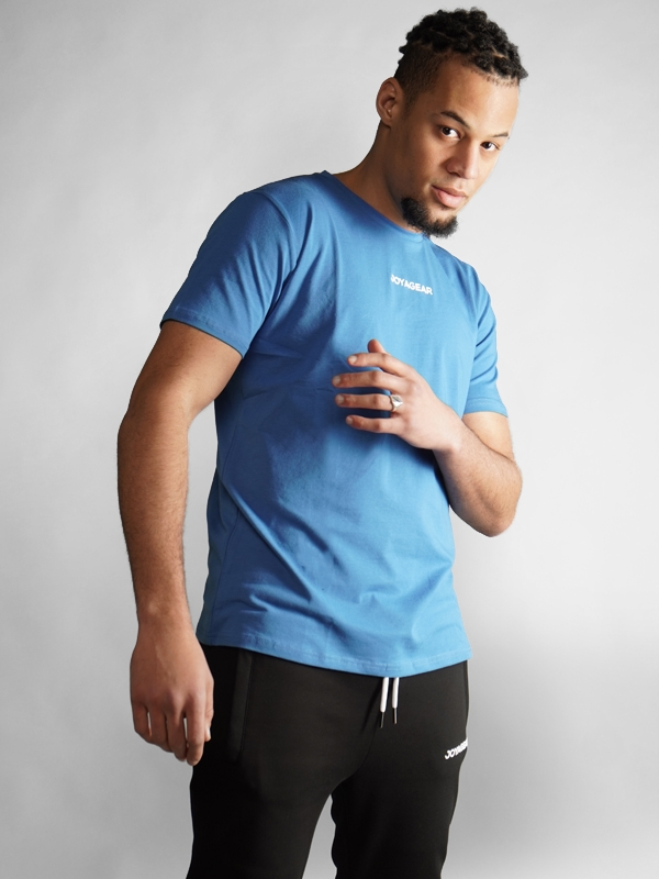 Joya Gear Southpaw T-Shirt - Katoen - Blauw jokasport.nl