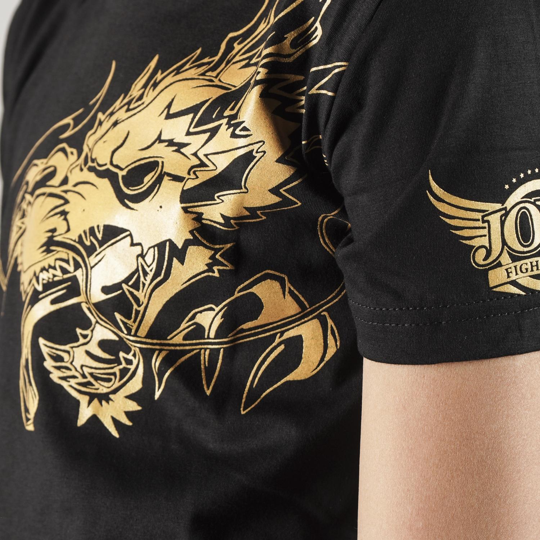 Joya T-Shirt Gouden Draak - Kinderen - Katoen-542192