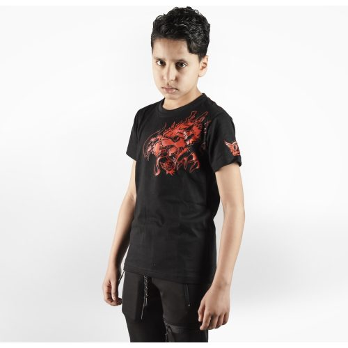 Joya T-Shirt Rode Draak - Kinderen - Katoen jokasport.nl