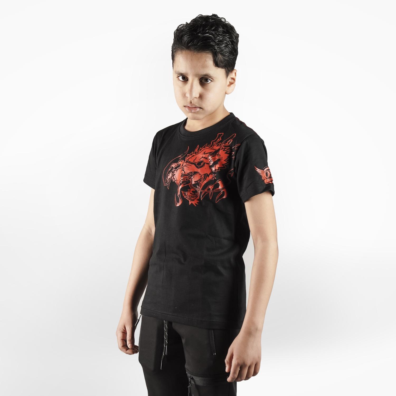 Joya T-Shirt Rode Draak – Kinderen – Katoen jokasport.nl