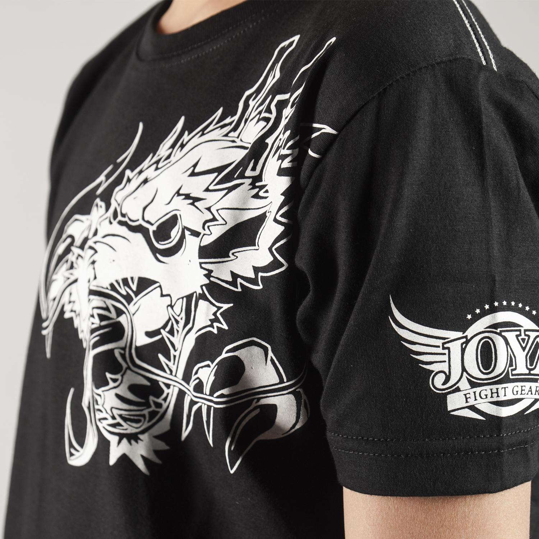 Joya T-Shirt Witte Draak - Kinderen - Katoen-542183