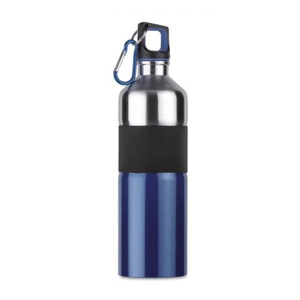 Tenere Aluminium Drinkfles - 750 ml - Blauw met zilver-0