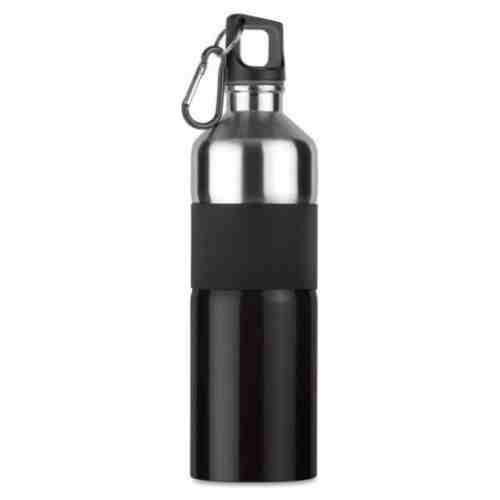 Tenere Aluminium Drinkfles - 750 ml - Zwart met zilver jokasport.nl