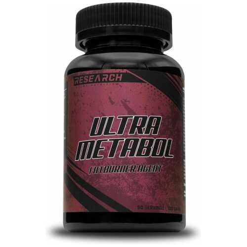 Research Vetverbrander - Metabol - 100 caps - 50 servings- jokasport.nl
