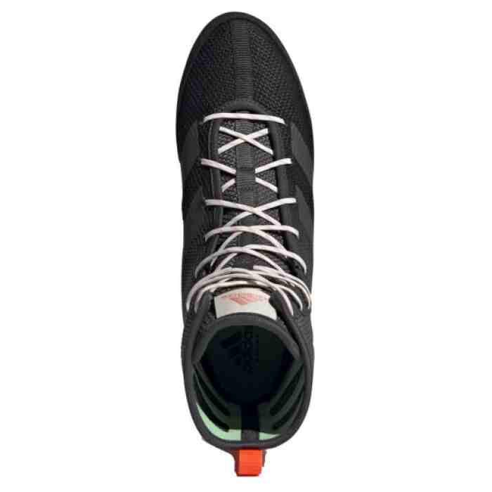 Adidas Box Hog 3 Boksschoenen - Zwart - Grijs - Oranje-534391