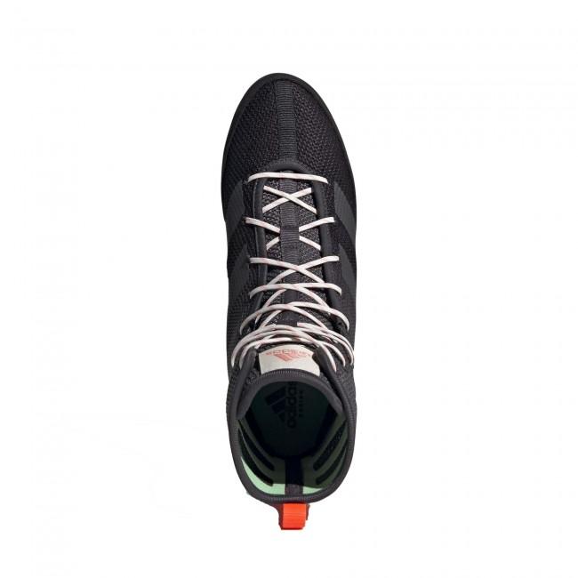 Adidas Box Hog 3 Boksschoenen – Zwart – Grijs – Oranje-534391