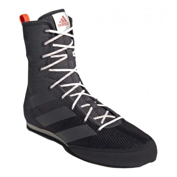 Adidas Box Hog 3 Boksschoenen - Zwart - Grijs - Oranje-534393