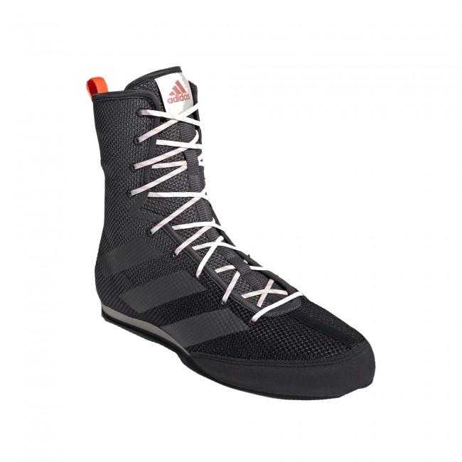 Adidas Box Hog 3 Boksschoenen – Zwart – Grijs – Oranje-534393