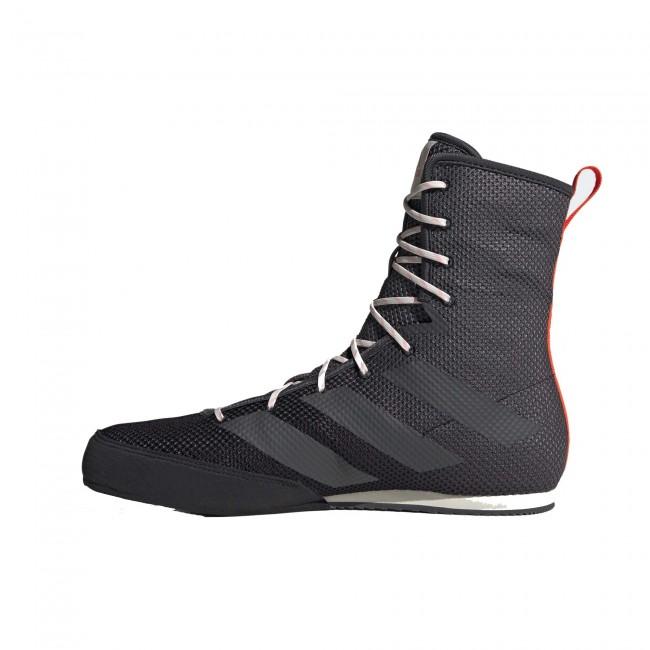 Adidas Box Hog 3 Boksschoenen – Zwart – Grijs – Oranje-534394