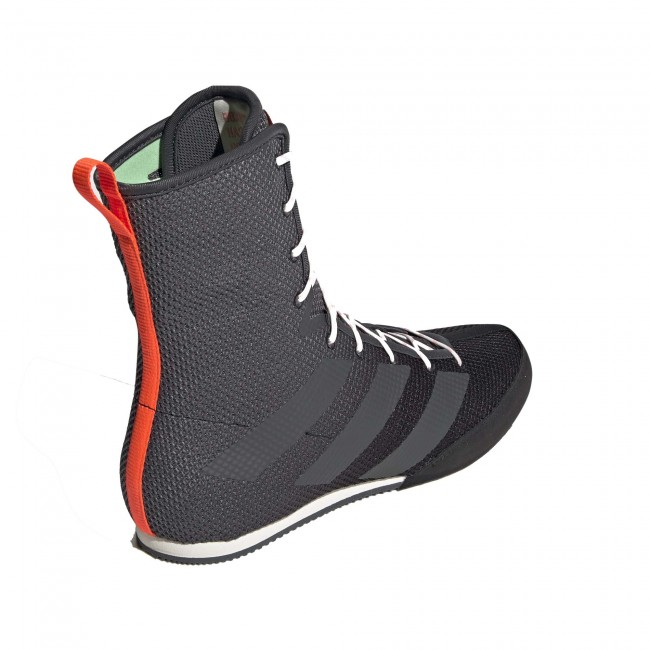 Adidas Box Hog 3 Boksschoenen – Zwart – Grijs – Oranje-534390