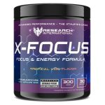 Research Pre Workout – X-Focus – Tropical Vibe – 300gr-0