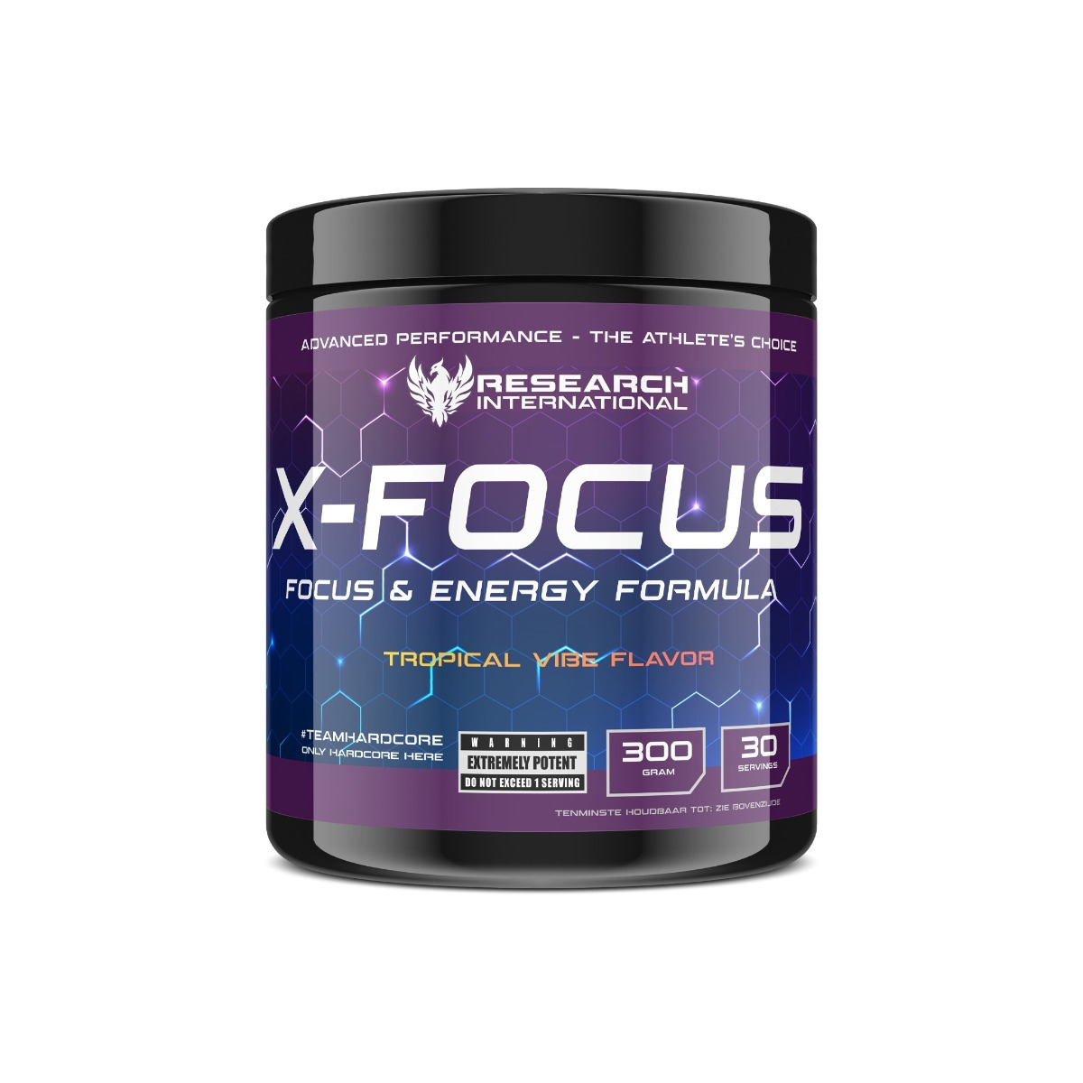 Research Pre Workout - X-Focus - Tropical Vibe - 300gr-0