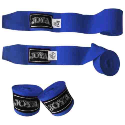 Joya Handbandage (katoen) Blauw - 350cm-0