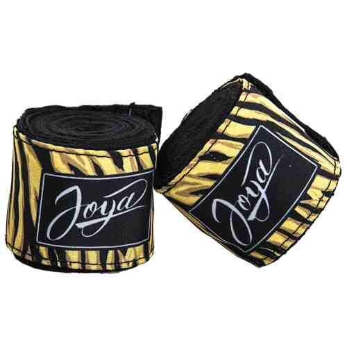 Joya Womens Handbandage - Tijger - Zwart - 350cm-0
