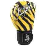 Joya Dames Handschoen – Tijger – Kunstleer – Zwart-541895