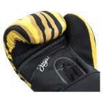 Joya Dames Handschoen – Tijger – Kunstleer – Zwart-541898