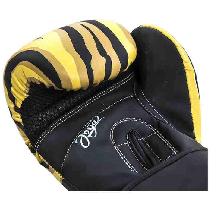 Joya Dames Handschoen - Tijger - Kunstleer - Zwart-541898