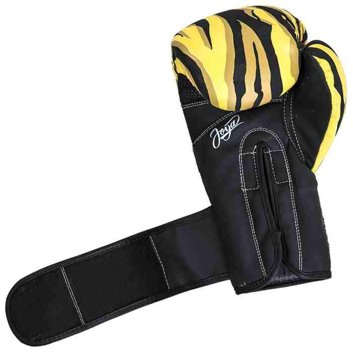 Joya Dames Handschoen - Tijger - Kunstleer - Zwart-541897