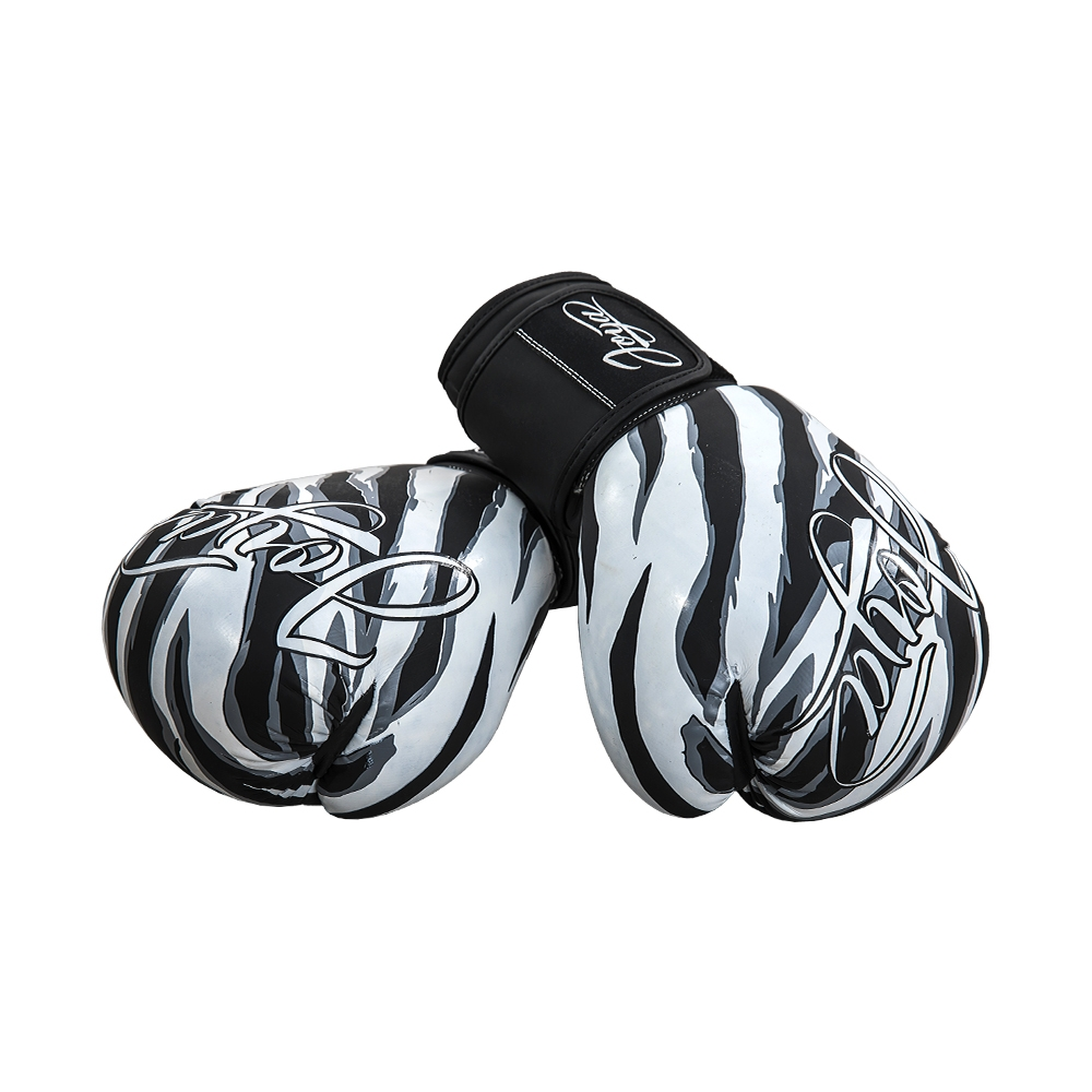Joya Dames Handschoen - Witte Tijger - Kunstleer-541907