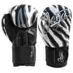 Joya Dames Handschoen – Witte Tijger – Kunstleer-0