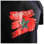Joya Vlag T – Shirt – Marokko – Zwart-542002