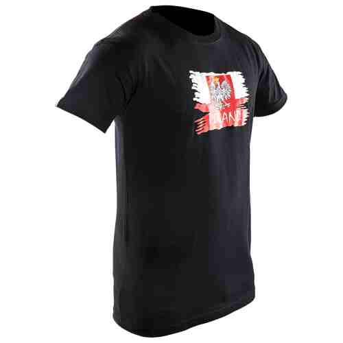 Joya Vlag T - Shirt - Polen - Zwart-0