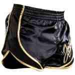 Joya Thailand Kickboks Broek – Snake – Zwart Goud-542112