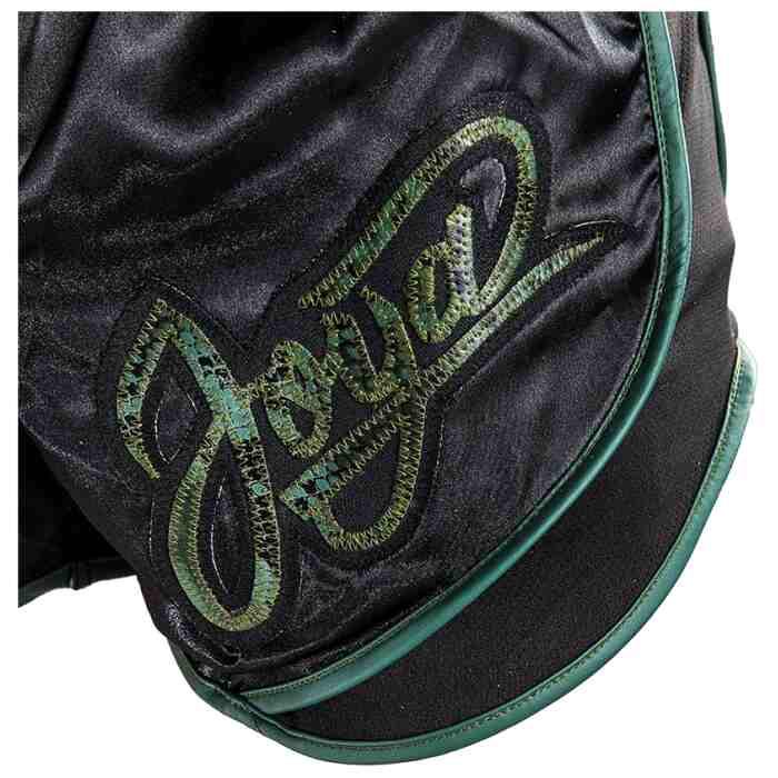 Joya Thailand Kickboks Broek - Snake - Zwart Groen-542103